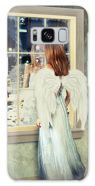 Too Cold For Angels Galaxy Case