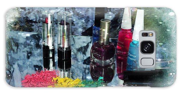 Too Much Makeup Galaxy Case by Randi Grace Nilsberg