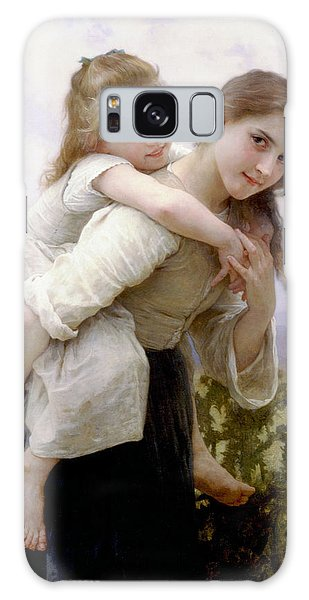 Too Much To Carry Galaxy Case by Bouguereau