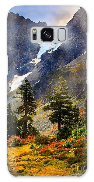 Top Of Cascade Pass Galaxy Case
