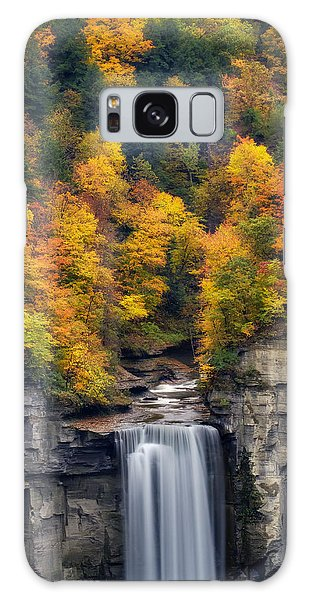 Top Of The Falls Galaxy Case