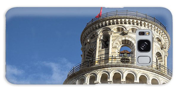 Top Of The Leaning Tower Of Pisa Galaxy Case