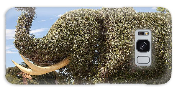 Topiary Elephant Galaxy Case