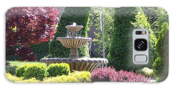 Topiary Garden Galaxy Case by Lyric Lucas