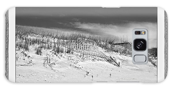 Framing Galaxy Case - Topsail Island Day Of The Dunes  by Betsy Knapp