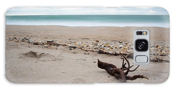 Topsail Island Driftwood Galaxy Case