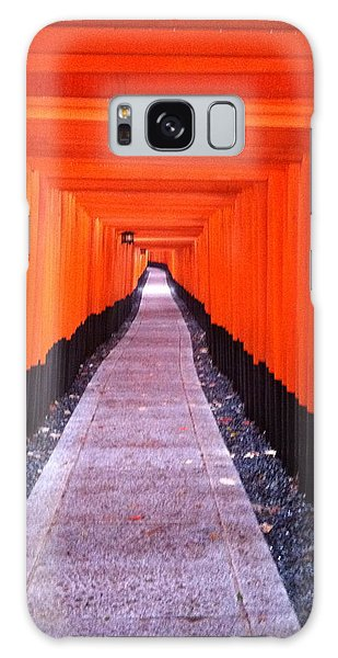 Torii Gates In Fushimi-inari Japan Galaxy Case