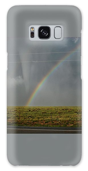 Tornado And The Rainbow Galaxy Case