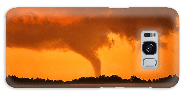 Tornado Sunset Galaxy Case by Jason Politte