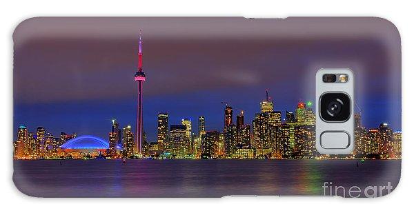 Toronto By Night... Galaxy Case