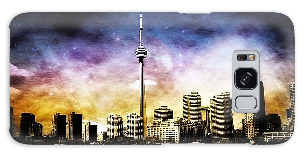 Toronto Galaxy Case by Elaine Manley
