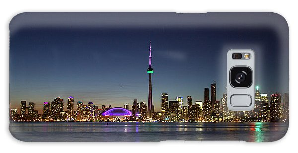 Toronto Skyline Colours Galaxy Case
