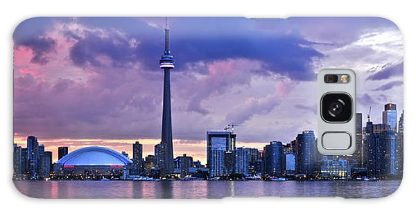 Toronto Skyline Galaxy Case