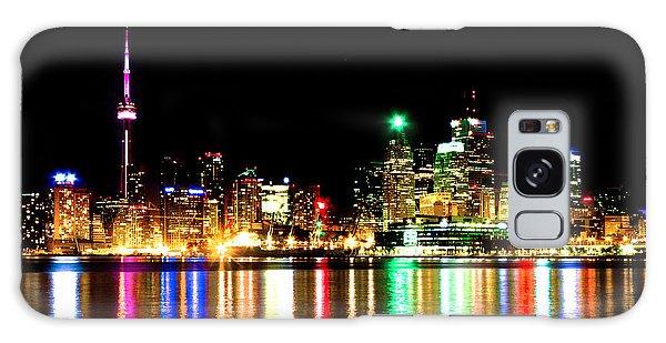 Toronto Skyline Night Galaxy Case