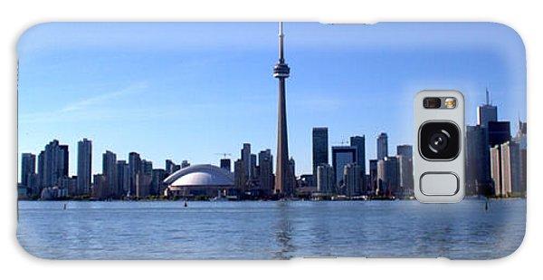 Toronto Skyline Panorama Galaxy Case