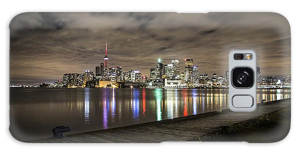 Toronto Sunset Galaxy Case by John McGraw
