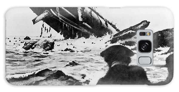 Drown Galaxy Case - Torpedoed Ship In World War I by Us Navy/science Photo Library