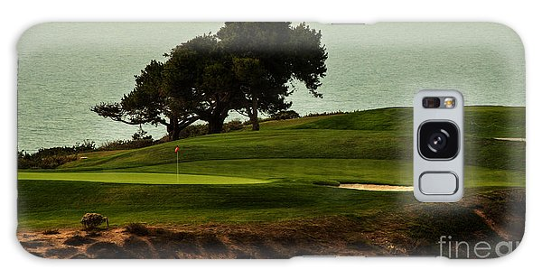 Torrey Pines Golfcourse Galaxy Case by Darleen Stry