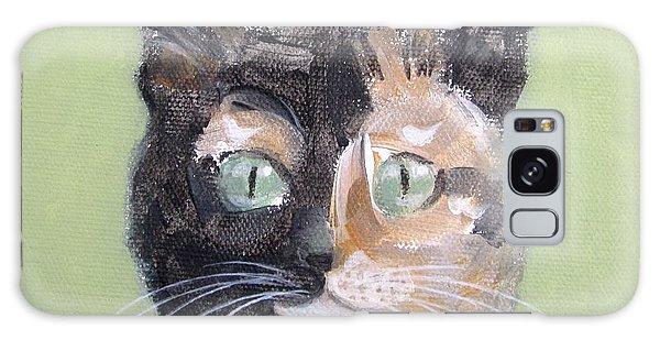 Tortie Cat Galaxy Case