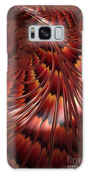 Fractal Galaxy Case - Tortoiseshell Abstract by John Edwards