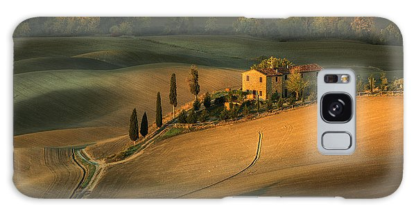 Old Road Galaxy Case - Toscany by Clas Gustafson Efiap