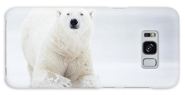 Furry Galaxy Case - Total White by Alessandro Catta