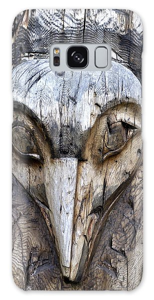 Totem Face Galaxy Case by Cathy Mahnke