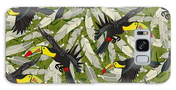 Toucan Jungle Galaxy S8 Case