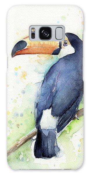 Bird Galaxy Case - Toucan Watercolor by Olga Shvartsur