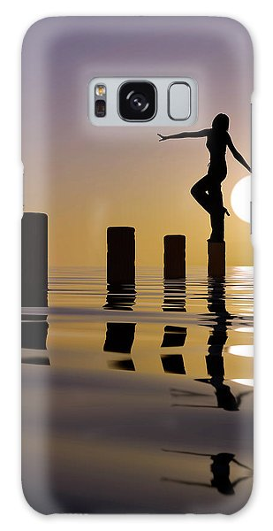 Creative Galaxy Case - Touch My Sun by Mustafa Celikel
