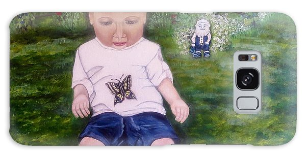 Touched By A Butterfly Kiss Galaxy Case by Kimberlee Baxter