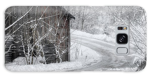 Galaxy Case featuring the photograph Touched By Snow by Joan Carroll