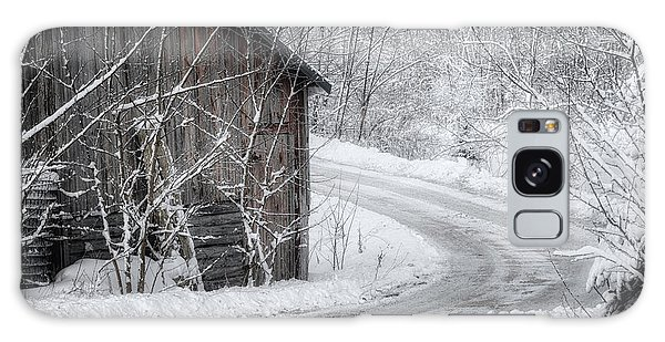 Touched By Snow Galaxy Case by Joan Carroll