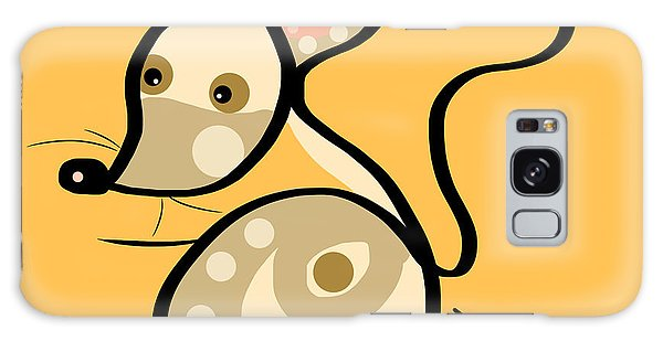 Thought Galaxy Case - Thoughts And Colors Series Mouse by Veronica Minozzi