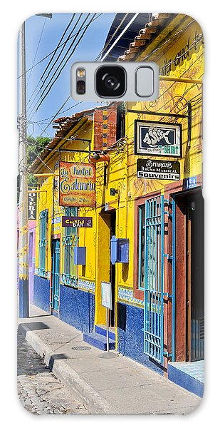 Tourist Shops - Mexico Galaxy Case by David Perry Lawrence