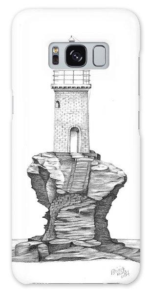 Tourlitis Lighthouse-greece Galaxy Case
