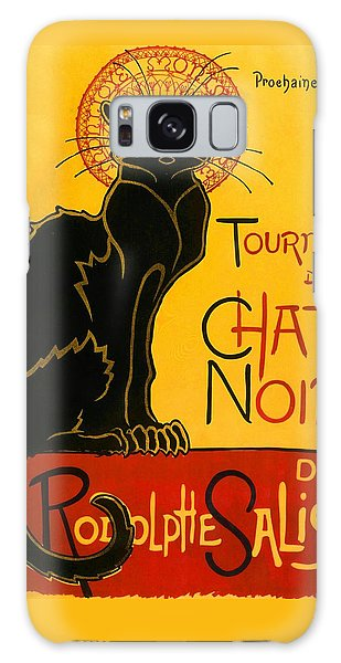 Tournee Du Chat Noir Galaxy Case