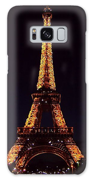 Tower At Night Galaxy Case