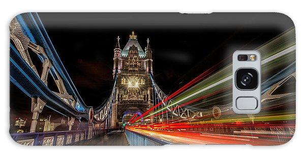 Tower Bridge At Night Galaxy Case
