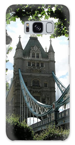 Tower Bridge Galaxy Case by Bev Conover