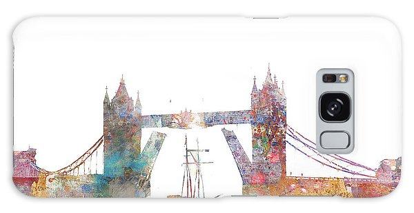 Tower Bridge Colorsplash Galaxy Case
