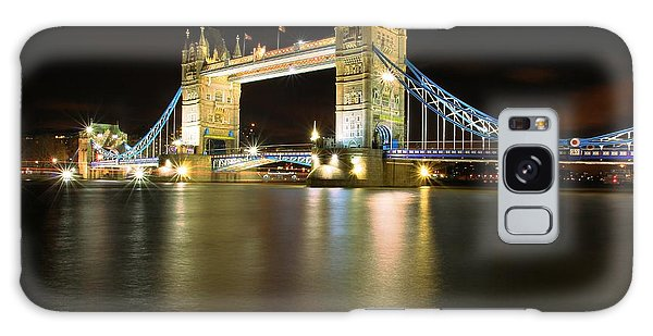 Tower Bridge London Galaxy Case by Mariusz Czajkowski