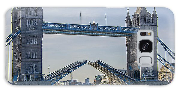 Tower Bridge Opened Galaxy Case