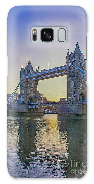 Tower Bridge Sunrise Galaxy Case