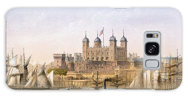 Tower Of London, 1862 Galaxy Case by Achille-Louis Martinet