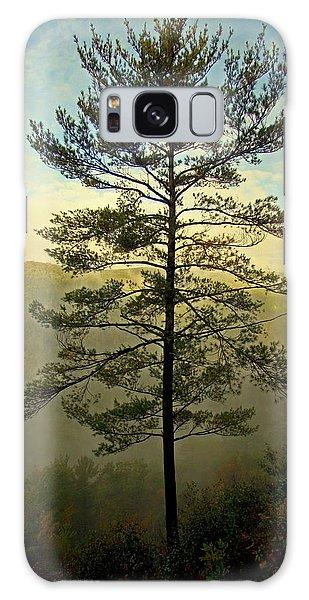 Towering Pine Galaxy Case