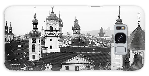 Towers Of Prague Galaxy Case