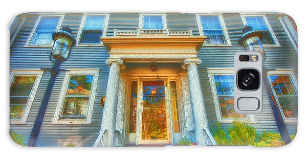 Town House Nantucket And Two Lamps 001 Galaxy Case
