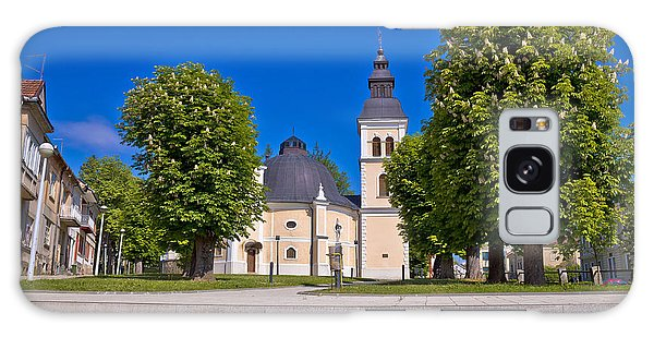 Town Of Daruvar Square And Church Galaxy Case