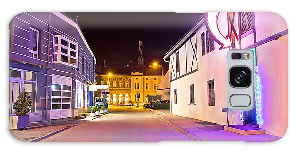 Town Of Koprivnica Center Evening View Galaxy Case